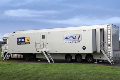 Arena truck