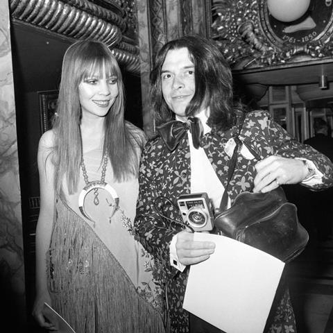 Penelope Tree & David Bailey, 1970