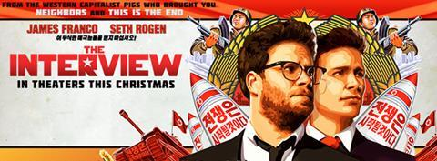 Sony the interview film poster