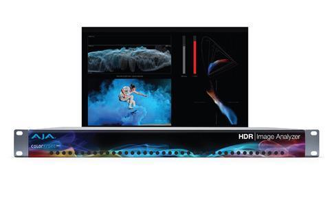 AJA HDR image analyser UI