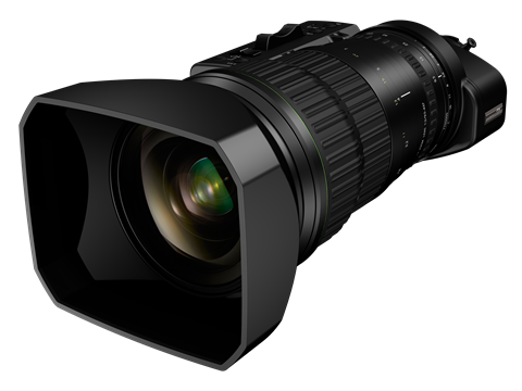 Fujinon debuted two 4K compatible broadcast portable zoom lenses