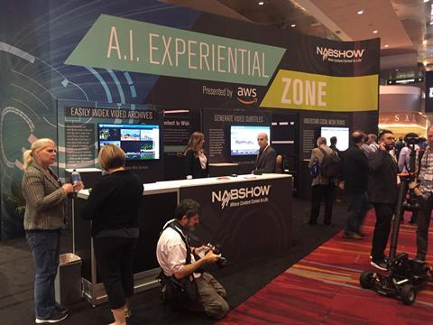AI Experiential Zone at NAB 2018