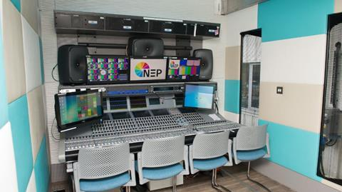 Nep editing suite in ob truck