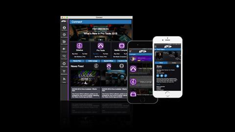 Avid app to connect users