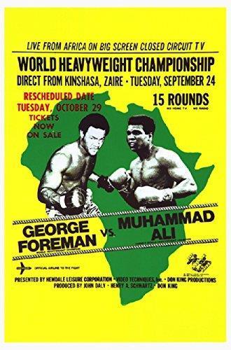 Rumble in the Jungle - Ali vs Foreman in 1974