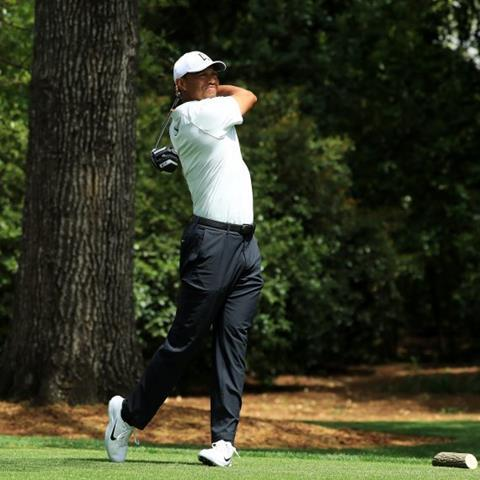 This year's Masters was Woods' first since 2015