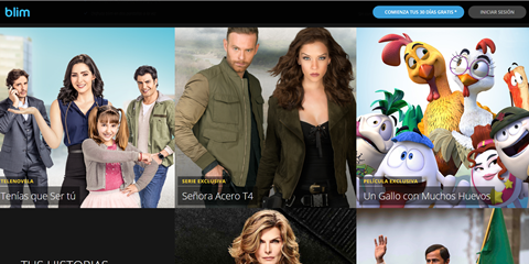 Televisa's OTT service, Blim, launched in 2016