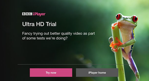 Bbc i player in uhd